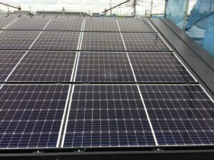 【埼玉県三郷市】N様邸注文住宅新築工事は太陽光パネル設置工事を行いました。