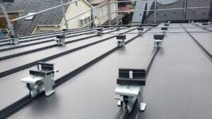 【東京都練馬区】I様邸新築工事は太陽光パネルが取り付きました。