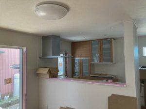 【埼玉県三郷市】K様邸注文住宅新築工事は内装工事中です。