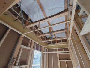 【千葉県松戸市】S様邸注文住宅新築工事は配線工事です。