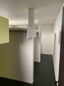 【埼玉県三郷市】Y様邸注文住宅新築工事ウォークインクローゼットです。