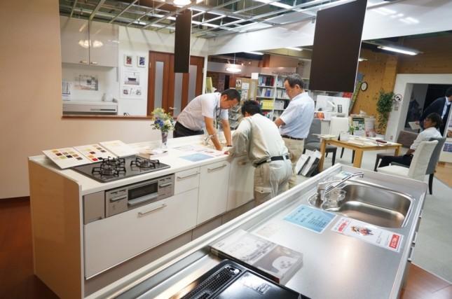 【リフォーム館】トクラス(旧ヤマハ)商品の勉強会