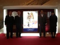お客様と一緒に宝塚「ベルサイユのばら」公演を見に行きました。