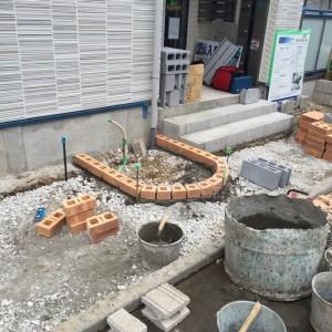 【足立区】H様新築マンション外構工事