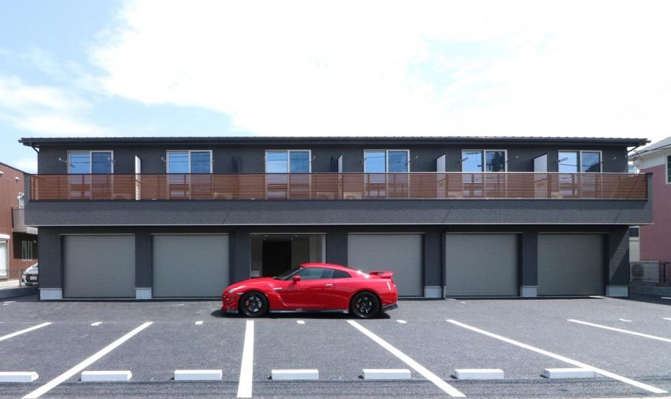 吉川美南ガレージハウスは完了前にお申込みを多数いただいたガレージです。