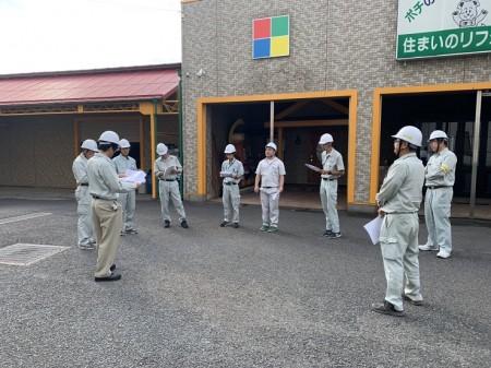 第435回安全パトロールを行いました。松井産業