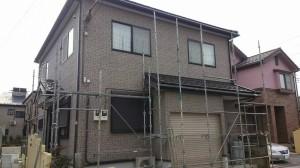 【三郷市】K様邸外壁塗装工事