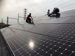 【三郷市】S様邸太陽光システム設置工事 (2)