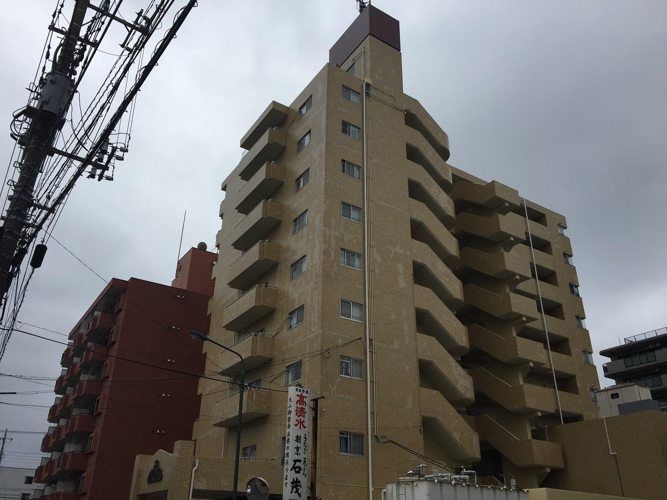 本店-ブログ 【三郷市】マンション改修工事は完了いたしました ...