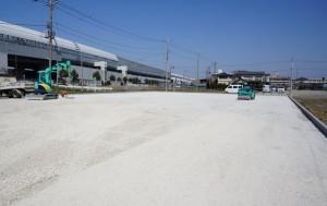 【三郷市】K様農地転用駐車場工事