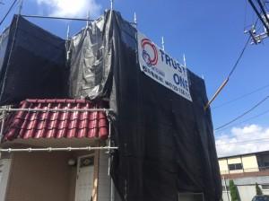 三郷市T様邸外壁塗装工事 (4)