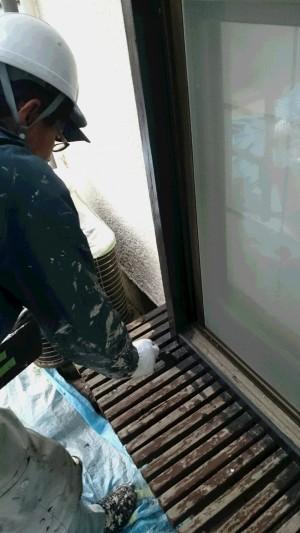 三郷市T様邸塗装工事 (1)