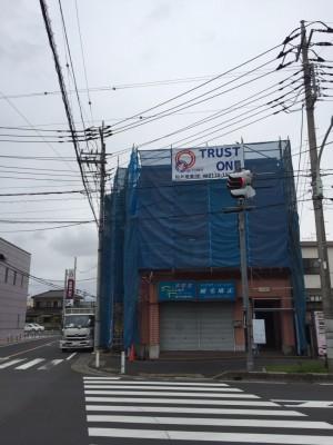 【吉川市】H様賃貸ビル塗装工事