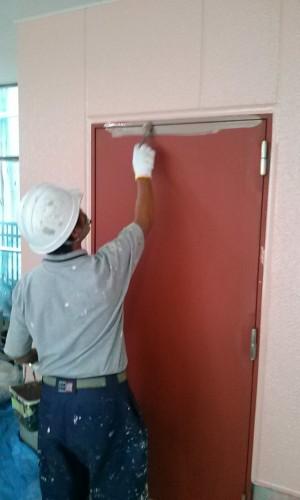 埼玉県吉川市YTハイツ様外壁塗装の様子 (18)