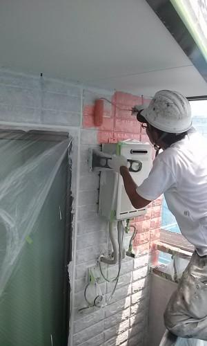 埼玉県吉川市YTハイツ様外壁塗装の様子 (14)