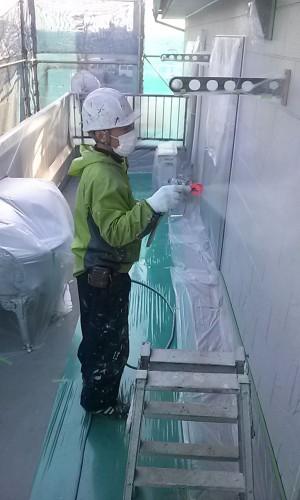 越谷市O様邸外壁塗装工事 (2)