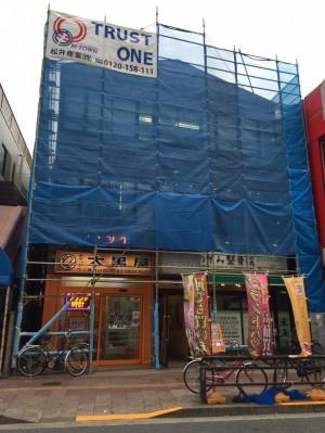 【東京都足立区】A様店舗ビル改修工事 (1)
