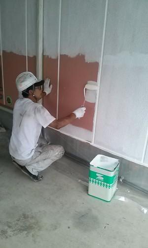 埼玉県吉川市YTハイツ様外壁塗装の様子 (12)