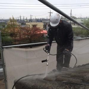 【三郷市】N様邸外壁塗装工事 (2)