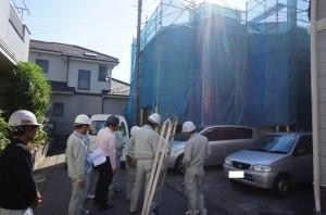 【埼玉県越谷市】U様邸外壁塗装工事 (2)