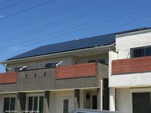 【三郷市】N様邸太陽光システム設置工事2