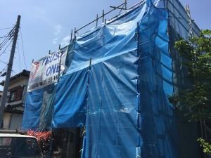 【三郷市】S様邸外壁塗装工事