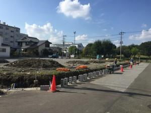 【吉川市T様】駐車場造成ブロック工事 (4)