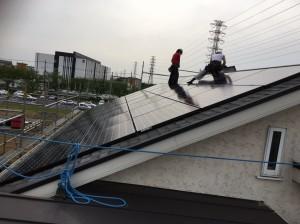 【三郷市】S様邸太陽光システム設置工事 (1)
