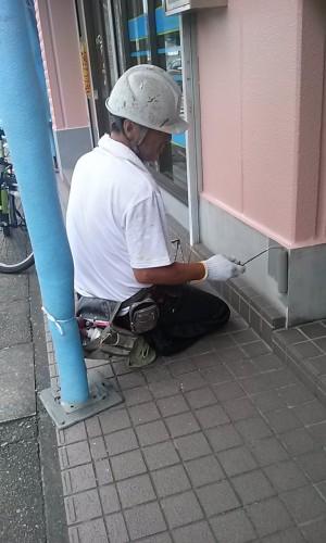 埼玉県吉川市YTハイツ様外壁塗装の様子 (20)