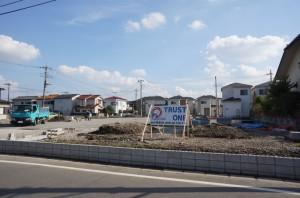 【吉川市T様】駐車場造成ブロック工事 (1)