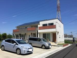 【三郷市】N様邸太陽光システム設置工事