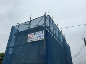【越谷市】M様邸外壁塗装工事