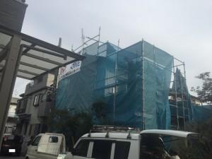 【埼玉県吉川市】S様邸外壁塗装工事 (1)