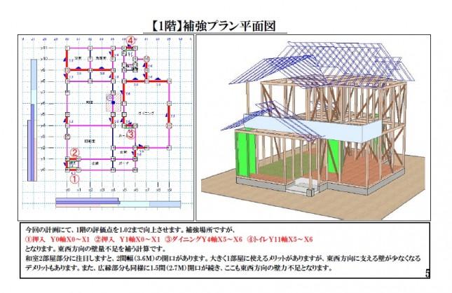 【吉川市】E様邸耐震補強計画