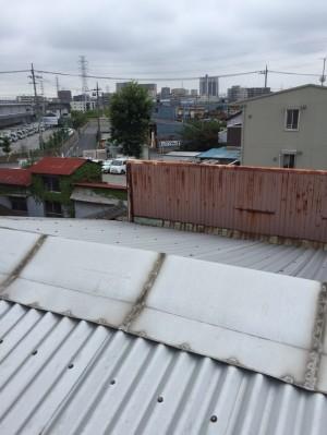 【埼玉県八潮市】A様工場屋根ガイナ塗装 (8)