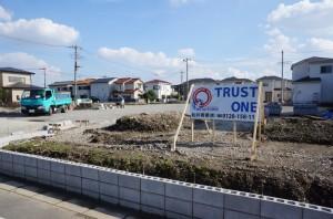 【吉川市T様】駐車場造成ブロック工事 (2)