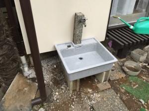 散水栓の交換 (2)