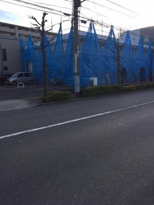 【足立区】S様店舗強風対策 (1)