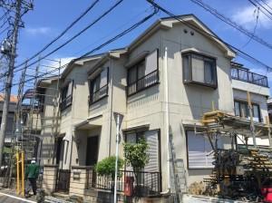 【三郷市】T様邸外壁塗装工事