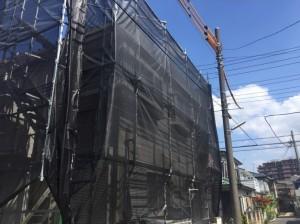 三郷市T様邸外壁塗装工事 (2)